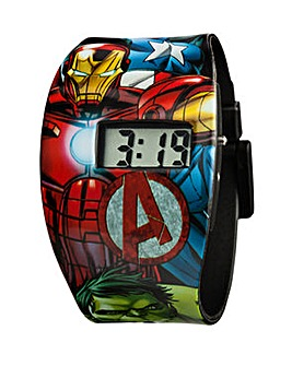 Marvel LCD All Over Print Watch