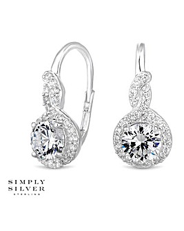 Simply Silver clara hook earring