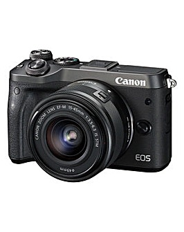 Canon EOS M6 Camera EF-M 15-45 Lens