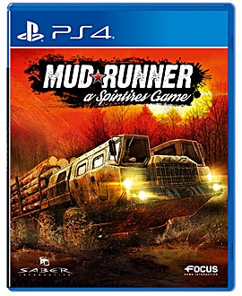 Spintires Mudrunner PS4