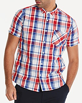Jacamo Division Check Shirt Long