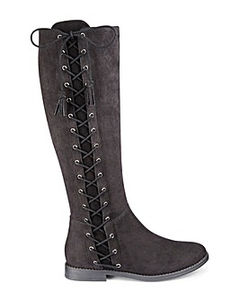 Joe Browns Boots Super Curvy Calf EEE