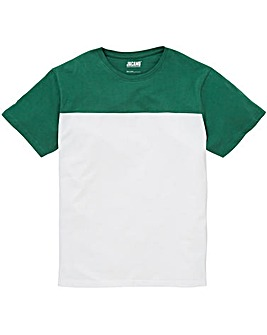 Jacamo Cut and Sew T-Shirt Long