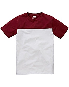 Jacamo Cut and Sew T-Shirt Regular