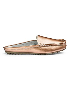 Heavenly Soles Leather Mules E Fit