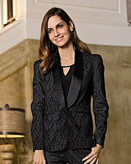 Together Jacquard Tailored Jacket