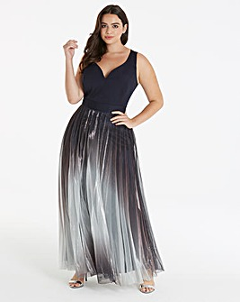 Coast Roma Metallic Dress