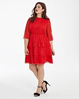 Junarose Tiered Skirt Dress