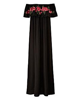 AX Paris Embroidered Maxi Dress
