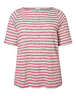 Junarose Marl Stripe Top
