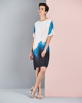 Concept Printed Shift Dress