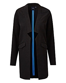I.Scenery Tailored Long Blazer