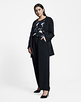 I.Scenery Tailored Long Blazer