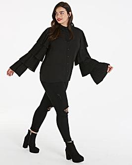 Unique 21 Frill Sleeve Blouse