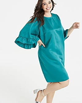 Junarose Frill Sleeve Dress