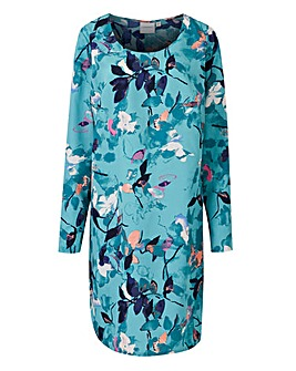 Junarose Floral Shift Dress