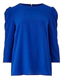 Oasis Curve Puff Sleeve Blouse