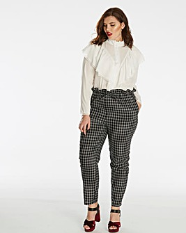 Fashion Union Checked Trousers