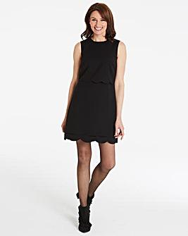 Oasis Curve Scallop Dress