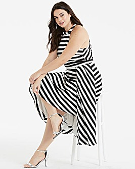 Coast Dillon Stripe Soft Cotton Dress