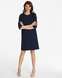 Helene Berman Scallop Edge Dress