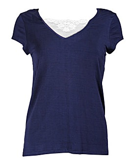 Pour Moi Moonstruck Short Sleeve Top