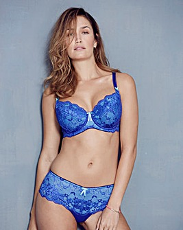 Pour Moi Amour Ink Balcony Bra