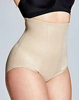 Miraclesuit Classic Hi Waist Nude Briefs