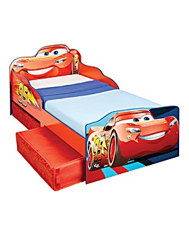 Cars Toddler Bed with Storage