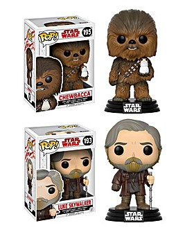 POP! Figure 2pk - Chewbacca & Luke