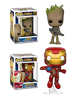 POP! Figure 2pk - Infinity War