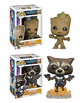 POP! Figure 2pk - Groot & Rocket
