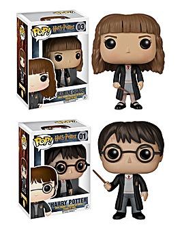 POP! Figure 2pk-Harry Potter & Hermione