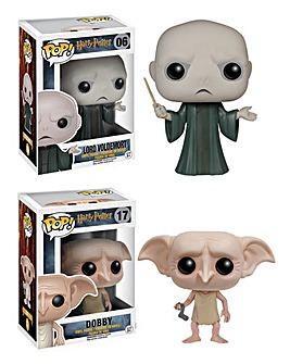 POP! Figure 2pk - Lord Voldemort & Dobby