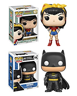 POP! Figure 2pk - Batman & Wonder Woman