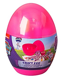 Paw Patrol Girls Craft Egg