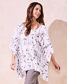Eden Rock Linen Square Abstract Top