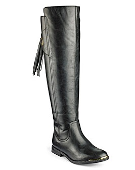 Sole Diva Riding Boots Curvy EEE Fit