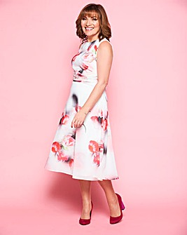 Lorraine Kelly Boat Neck Dress