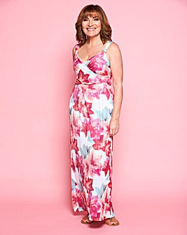 Lorraine Kelly Pleated Maxi Dress
