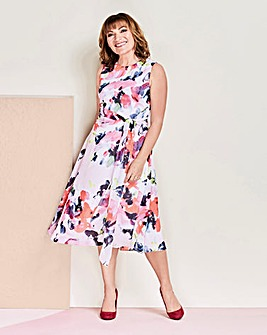 Lorraine Kelly Chiffon Wrap Dress