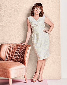 Lorraine Kelly Textured Wrap Dress