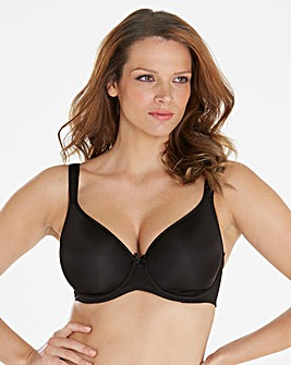 Solutions Wired T-Shirt Bra Black