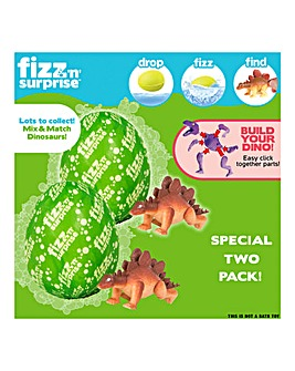 Fizz N Surprise Twin Pack Dino