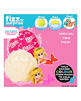 Fizz N Surprise Twin Pack Mermaid