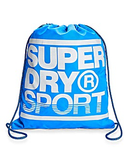 Superdry Blue Drawstring Bag
