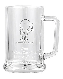 Chilli & Bubbles Personalised Tankard