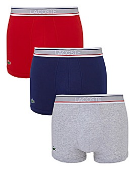 Lacoste Pack of 3 Hipsters