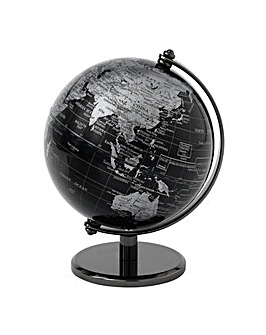 The Globe Collection Black Globe - 13Cm