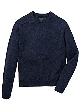 Farah Jeans Litton Lambswool Crew Jumper